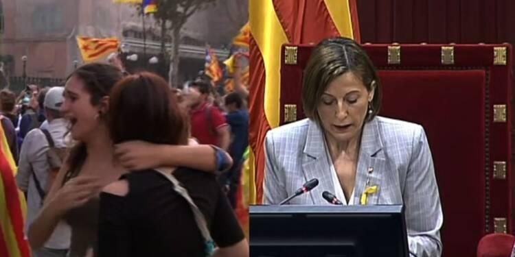 Espagne: le parlement de Catalogne déclare l'indépendance