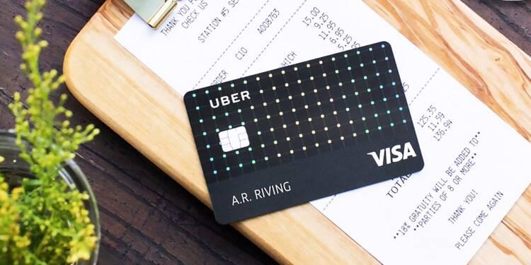 Uber lance sa carte de crédit Visa