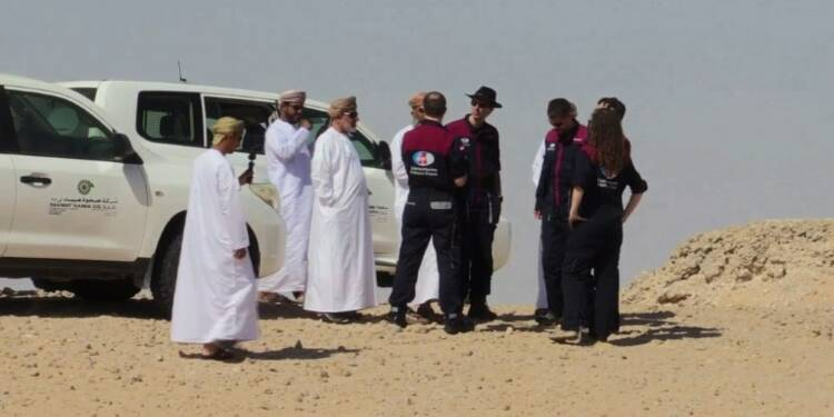 Espace: le désert d'Oman, porte d'entrée de la planète Mars