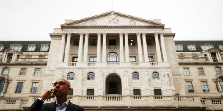 La Banque d'Angleterre attend jusqu'à 75.000 emplois supprimés dans la finance