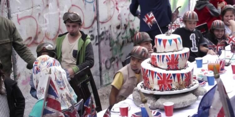 Banksy organise une