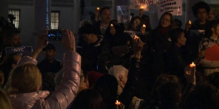 Commémorations pour les victimes de l'attentat de New York