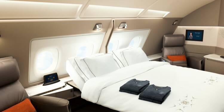 Les incroyables suites des A380 de Singapore Airlines