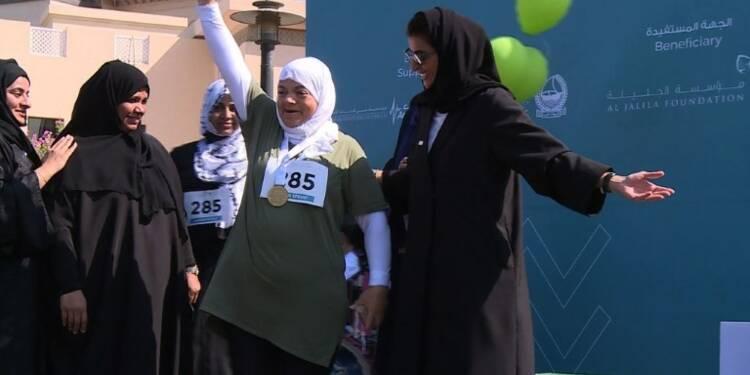 Dubaï: première compétition de triathlon féminin au Moyen-Orient