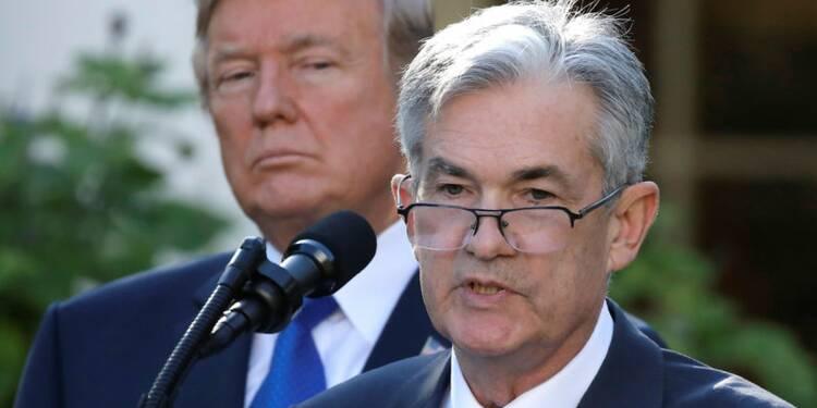 Jerome Powell choisi par Donald Trump pour présider la Fed