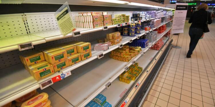 Pénurie de beurre: vers une fin de crise? (étude)