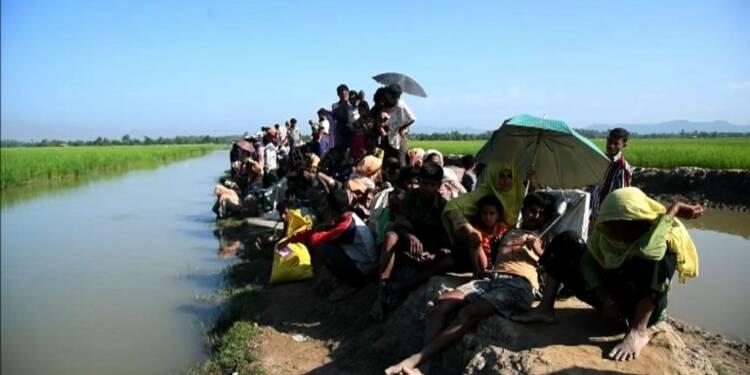 Les réfugiés rohingyas continuent d'affluer au Bangladesh
