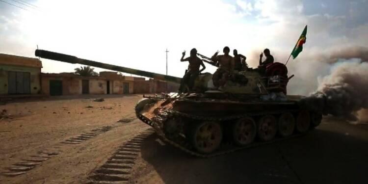 Les forces irakiennes ont repris la localité d'al-Qaïm à l'EI