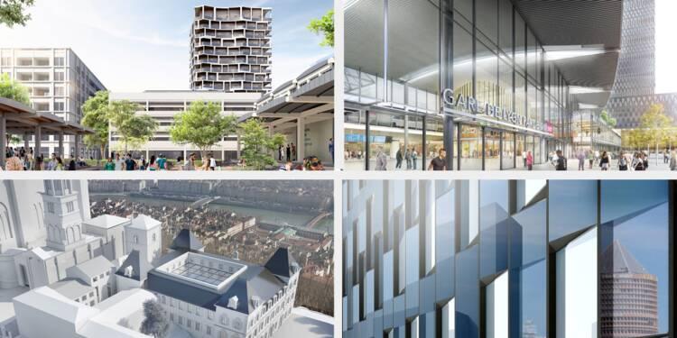 Ces spectaculaires projets urbains qui vont transformer Lyon