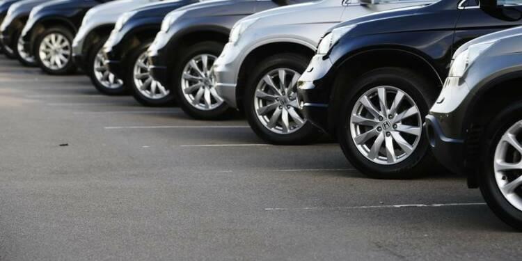 Grande-Bretagne: Recul de 12,2% des immatriculations de voitures neuves