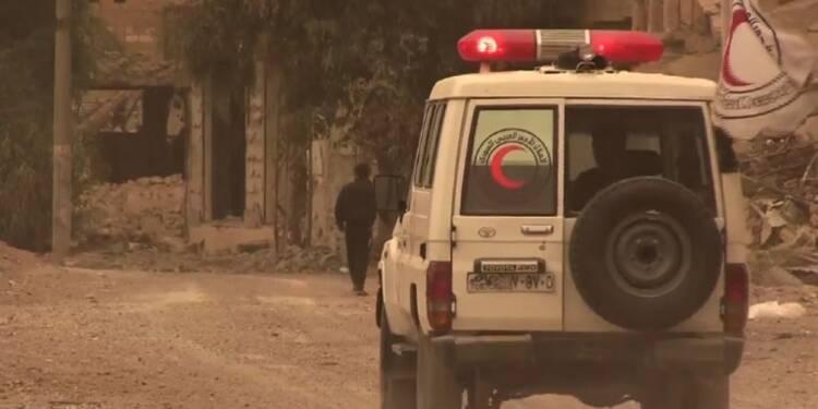 Syrie: le Croissant-Rouge évacue des civils de Deir Ezzor