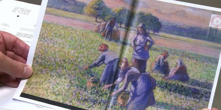 Pissarro spolié restitué: