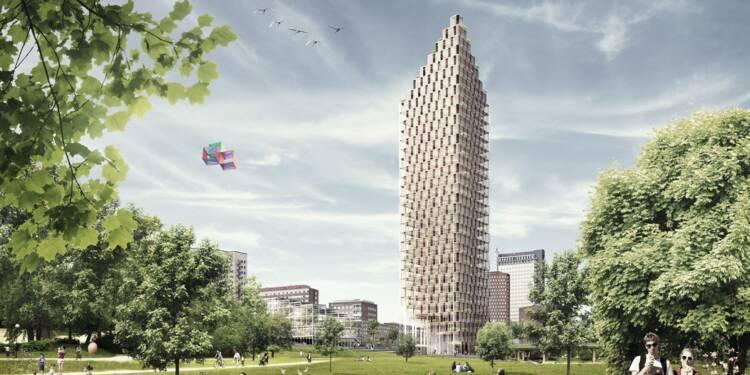 8 spectaculaires projets de tours en bois
