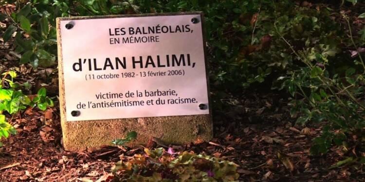 Rassemblement après la profanation de la stèle d'Ilan Halimi