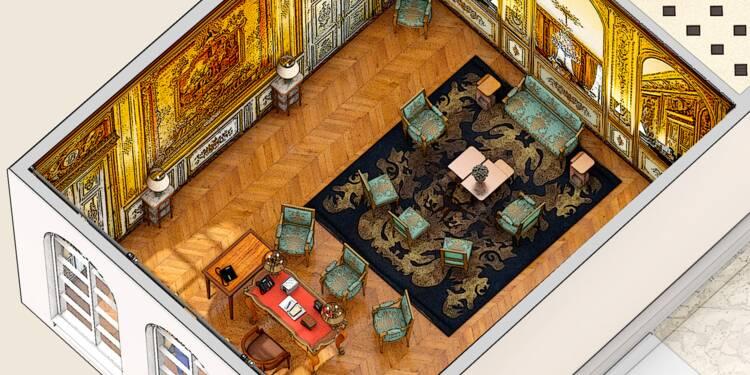 Découvrez l'incroyable faste du palais de l'Elysée, que Macron tente de moderniser