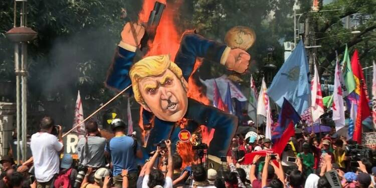 Manifestation et affrontements en marge du sommet de l'ASEAN