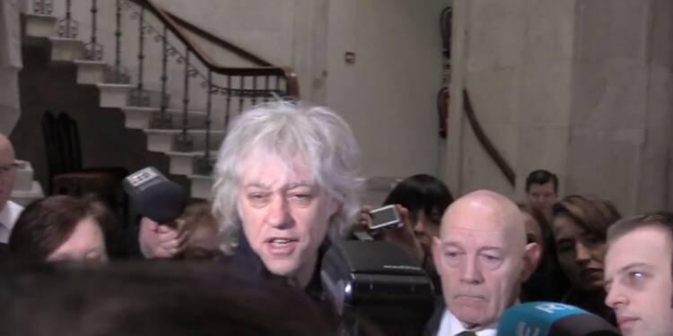 Dublin: Bob Geldof ne veut pas être lié à Aung San Suu Kyi