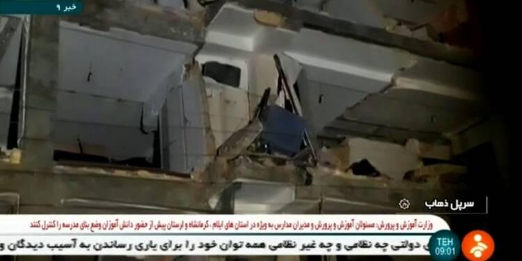 Violent séisme aux confins de l'Iran et de l'Irak