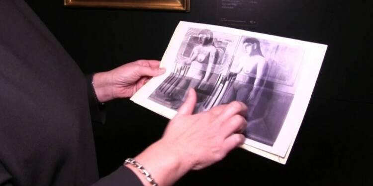 Un tableau disparu de Magritte reconstitué intégralement