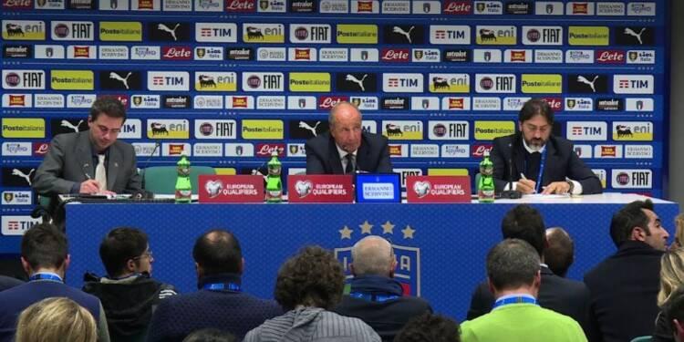 Mondial-2018: les Italiens abasourdis, le sélectionneur s'excuse