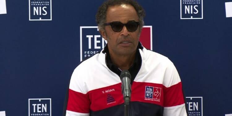 Coupe Davis: Noah maintient le suspense et joue la prudence