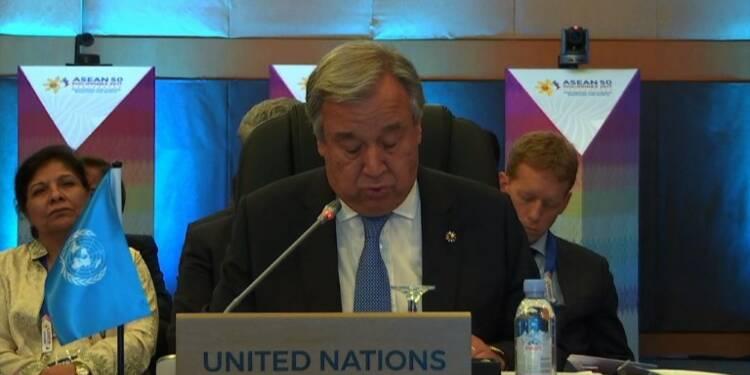 Le chef de l'Onu demande le retour des réfugiés rohingyas