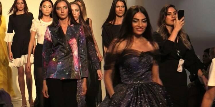 Dubaï: Fées et mariées en noir à la Semaine de la mode arabe