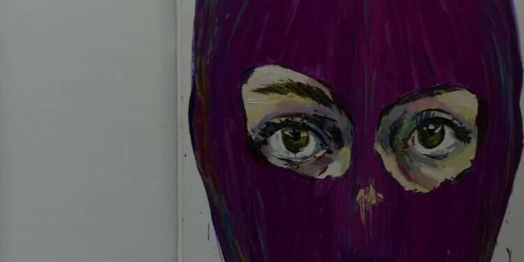 L'art militant de Pussy Riot célébré à Londres