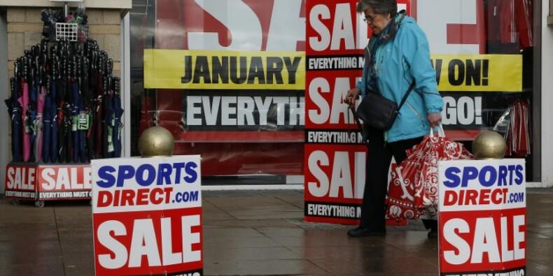 Premier recul sur un an des ventes au détail en Grande-Bretagne depuis 2013