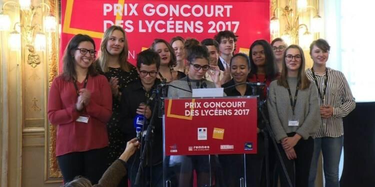 Goncourt des lycéens: Alice Zeniter lauréate de la 30e édition