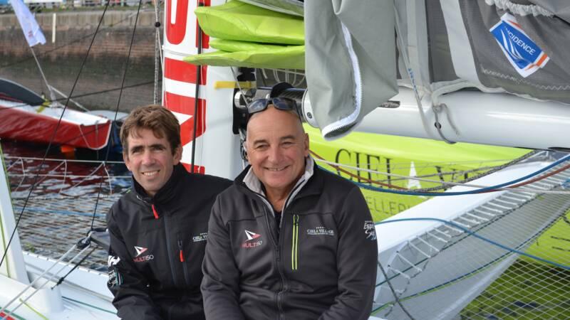 Transat Jacques Vabre : marin et patron, la double vie du skipper Thierry Bouchard