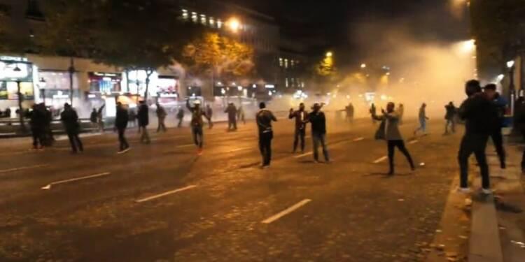 Rassemblement à Paris contre l'esclavage en Libye