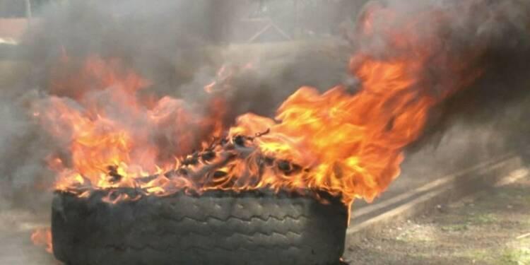 Kenya: Kisumu proteste contre la réélection de Kenyatta