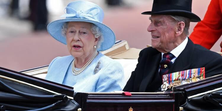 La reine Elizabeth II et le prince Philip fêtent leurs noces de platine
