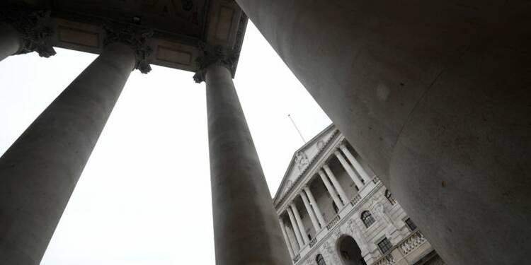 Banque d'Angleterre: Les divergences sur la hausse des taux mises au jour