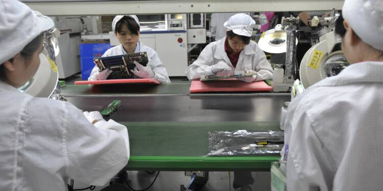 Des étudiants ont travaillé 11heures par jour pour produire l'iPhone X d'Apple