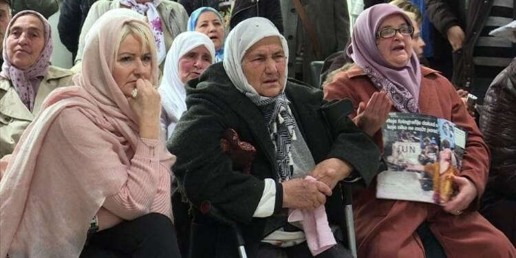 Les familles de Srebrenica satisfaites du verdict de Mladic