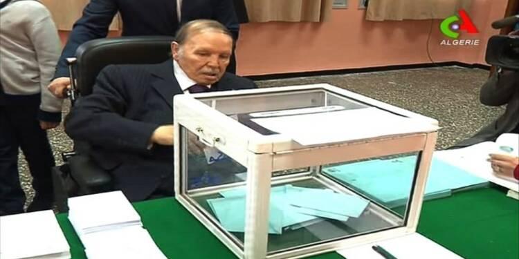 Algérie: apparition de Bouteflika lors des élections locales