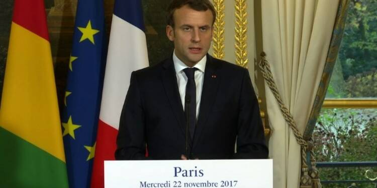 Esclavage en Libye: Macron parle de