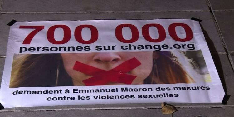 #SoyezAuRdv contre les violences sexuelles: un appel à Macron