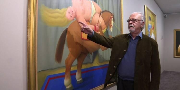 Botero, peintre des