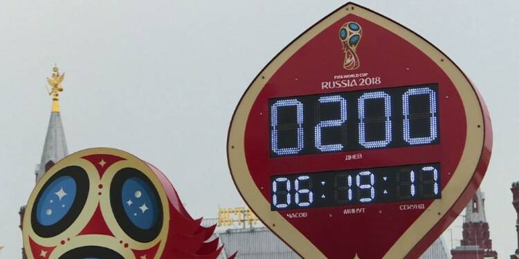Russie: 200 jours avant le début de la coupe du monde de foot