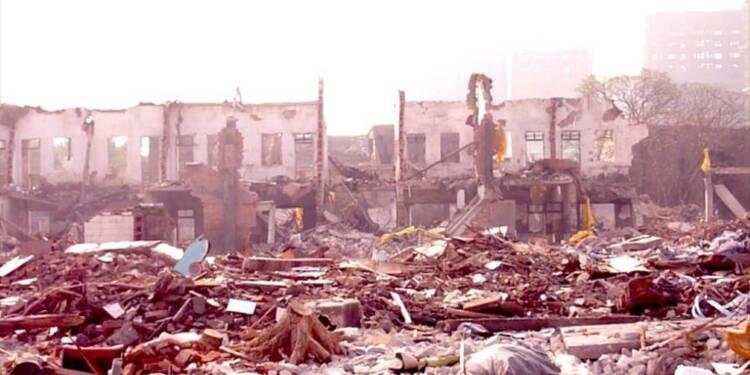 Une fosse septique à l'origine de l'explosion en Chine