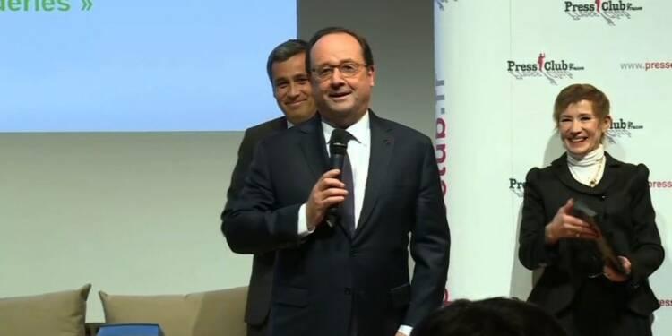 Humour politique: Hollande lauréat du Grand prix 2017