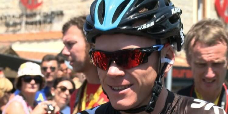 Chris Froome annonce sa participation au Tour d'Italie 2018