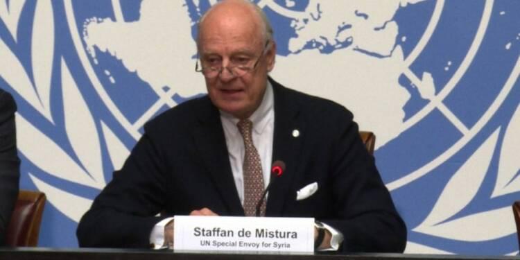 Syrie : l'ONU prolonge les pourparlers jusqu'à mi-décembre