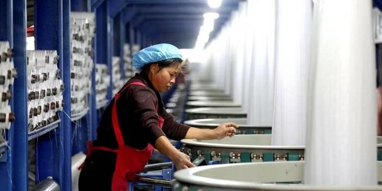 La croissance manufacturière chinoise à un creux de cinq mois