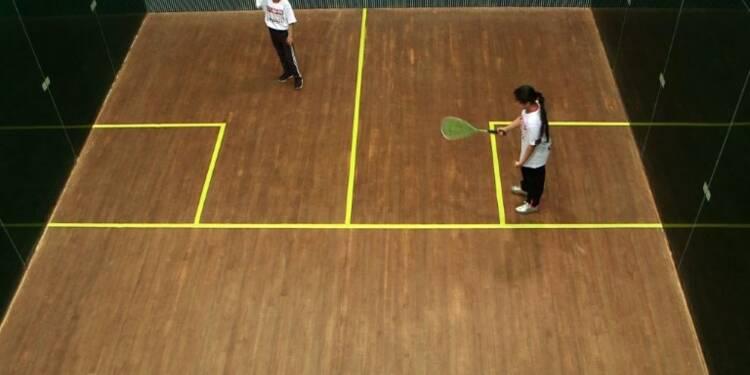 Des jeunes réfugiées syriennes se libèrent grâce au squash