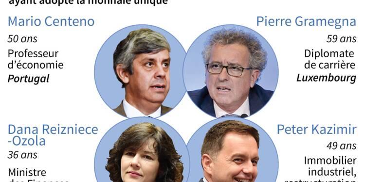 Eurogroupe: quatre candidats pour le fauteuil de président