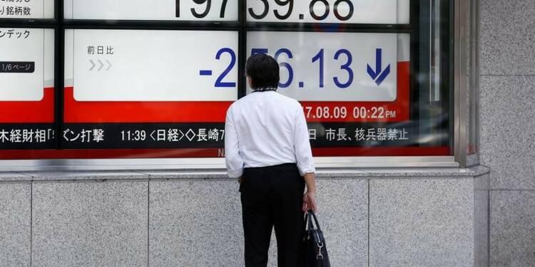Le Nikkei chute de près de 2% à Tokyo